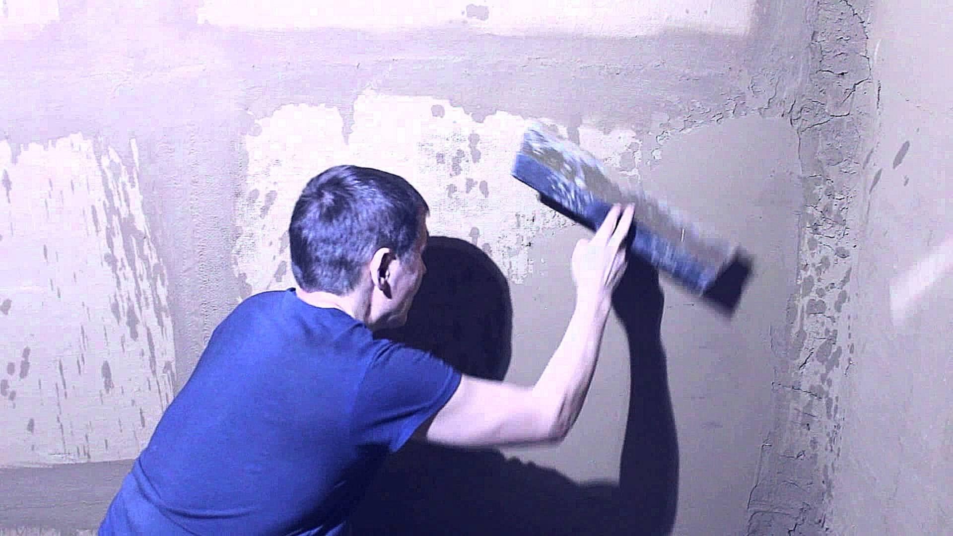 Выравнивание стен своими руками: штукатурка, гипсокартон