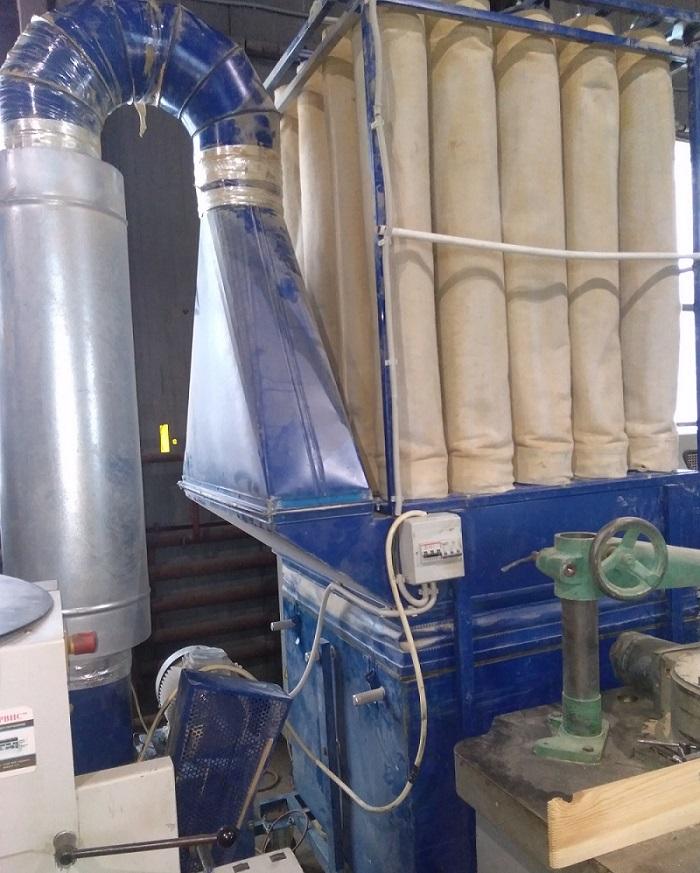 Обоснование выбора и расчет рукавного фильтра для очистки от цементной пыли. курсовая работа (т). экология. 2012-11-04