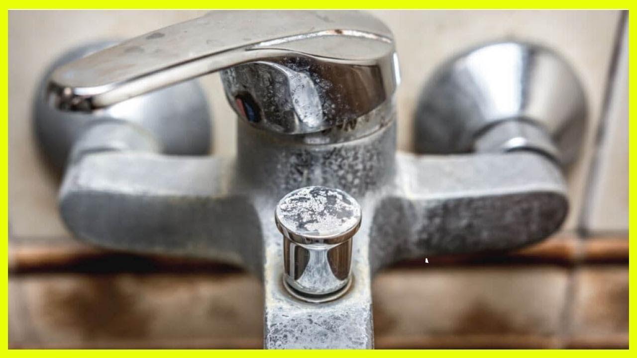 Как очистить кран от известкового налета методы с использованием народных средств и бытовой химии