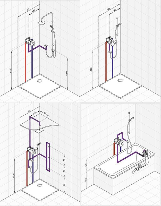 Смена смесителя в ванной по конкретной технологии инструкции, инструменты  важные нюансы