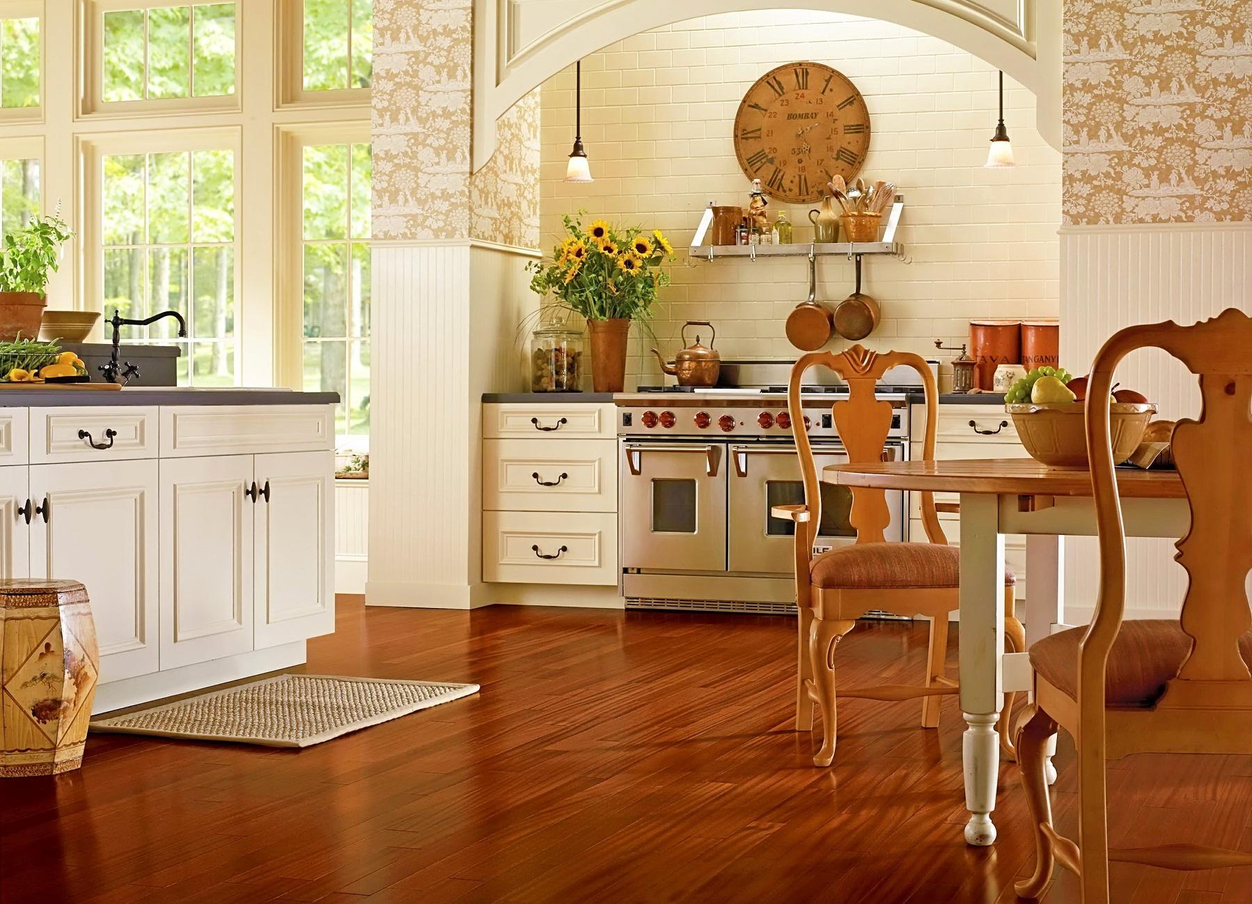 Напольное покрытие для кухни: из чего лучше сделать, что лучше стелить, виды