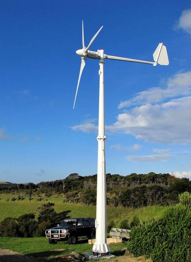 Делаем для дачи вертикальный ветрогенератор своими руками