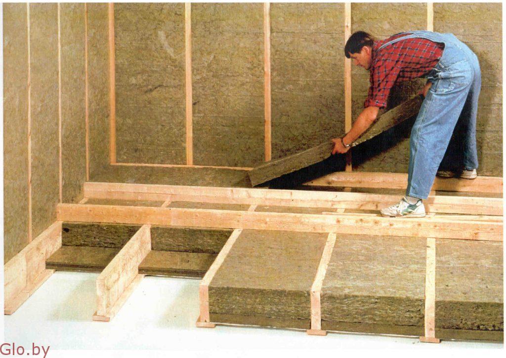 Какие утеплители лучше использовать для полов в деревянном доме, что выбрать?