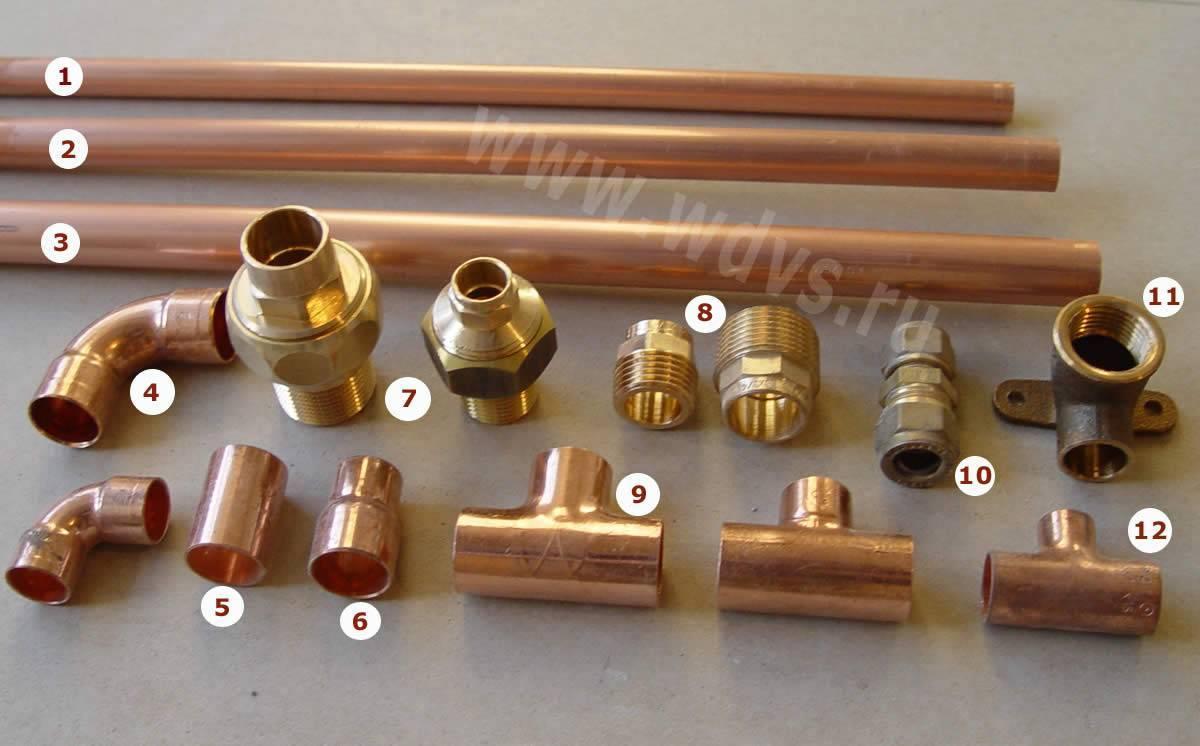 Какие виды труб подойдут для отопления?