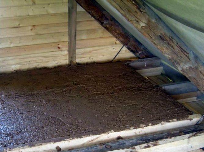Как сделать утепление потолка в деревянном доме – секреты теплого жилья