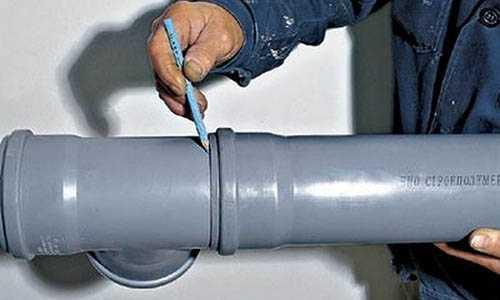 Как врезаться в пластиковую трубу: особенности работ и разбор всех важных нюансов