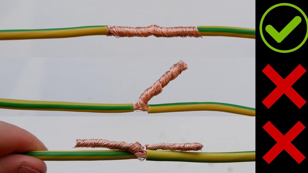Способы соединения проводов между собой: виды, их плюсы и минусы