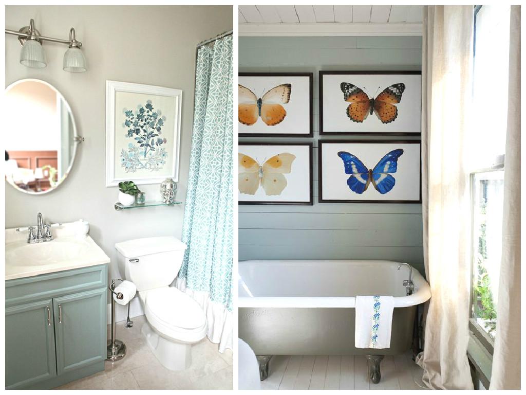 Как украсить ванную комнату?