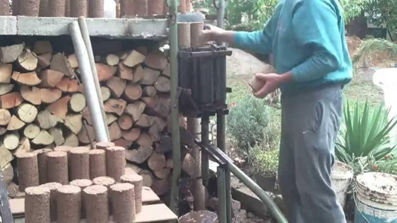 Топливные брикеты своими руками в домашних условиях: прессуем опилки