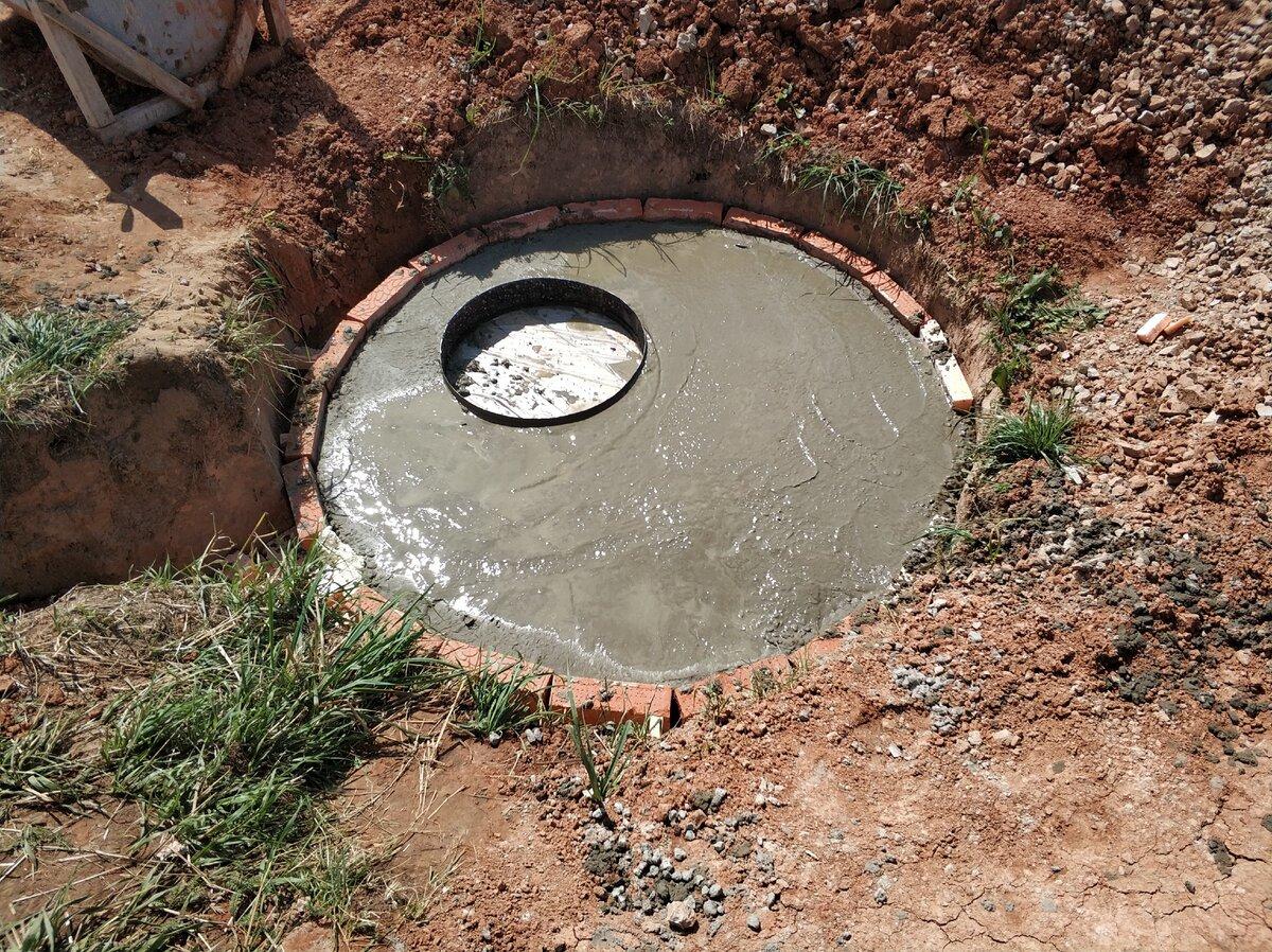 Почему в выгребной яме не уходит вода