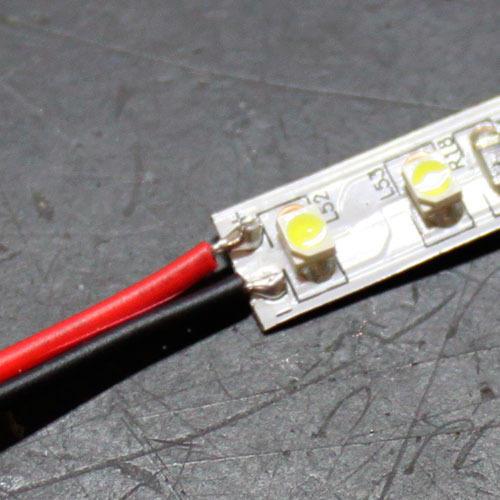 Как паять светодиодную ленту?