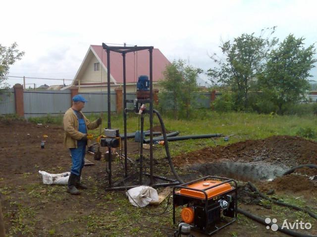 Гидробурение скважин на воду своими руками: обзор технологии работ - точка j