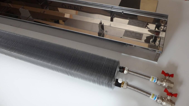 Внутрипольные конвекторы отопления - характеристики, выбор, установка
