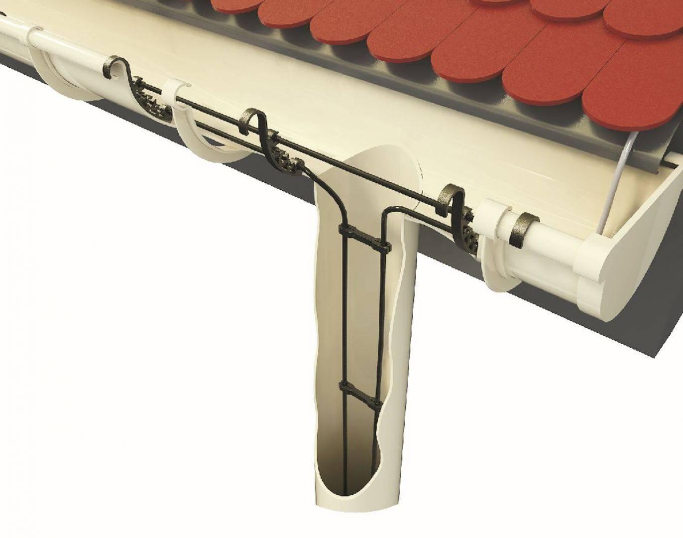 Обогрев водостоков: монтаж системы обогрева своими руками - точка j