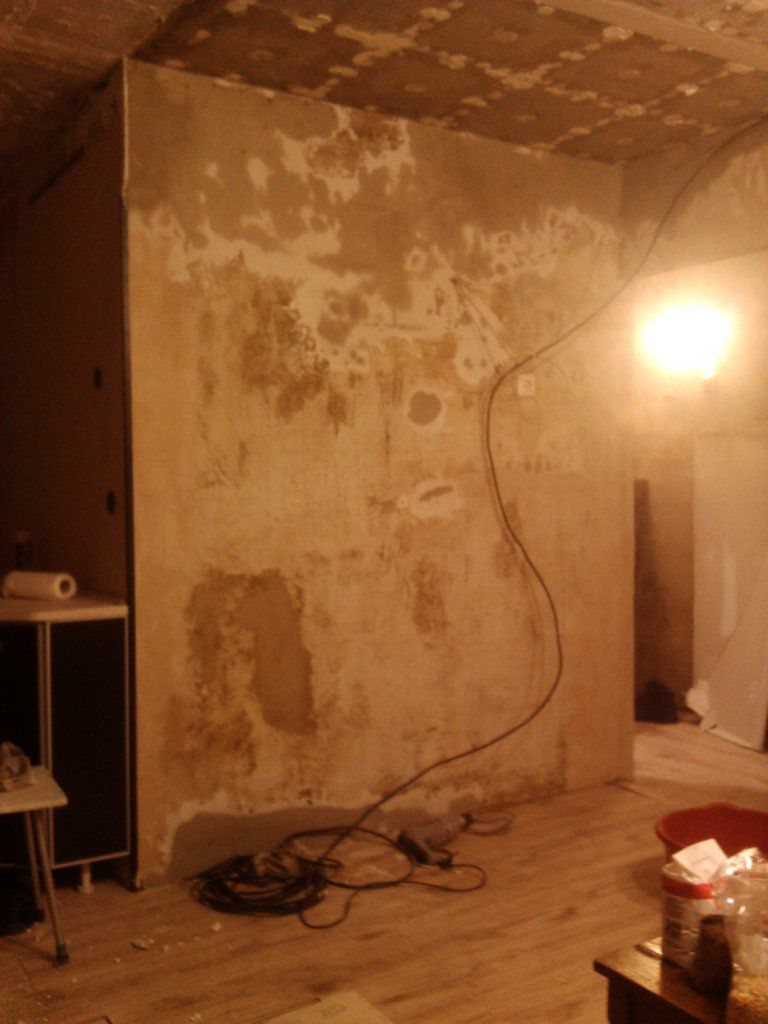 Выравнивание стен своими руками поэтапно: технология, способы