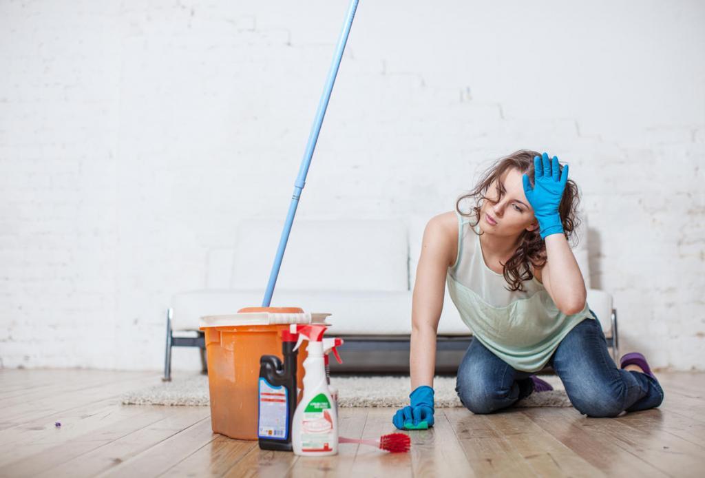 В какие дни недели нельзя мыть в доме полы, а когда наводить чистоту нужно