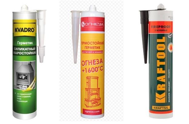 Высокотемпературный герметик – осваиваем использование термостойкого клея для печей и духовки + видео