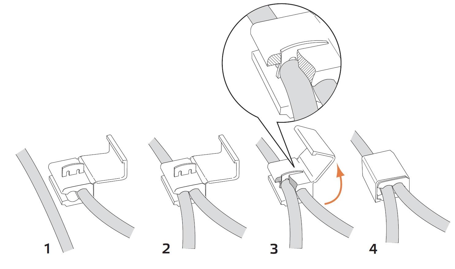 Зажимы для проводов — разновидности зажимов порядок выполнения зажимного соединения