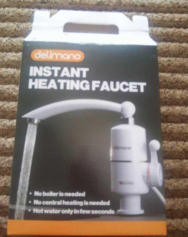 Проточный водонагреватель делимано — технические характеристики и сфера использования