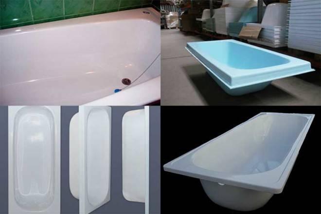 Акриловая вставка в ванну – как правильно выбрать