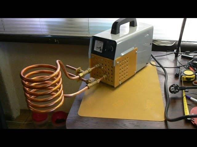 Индукционная печь своими руками из сварочного инвертора - инженер пто