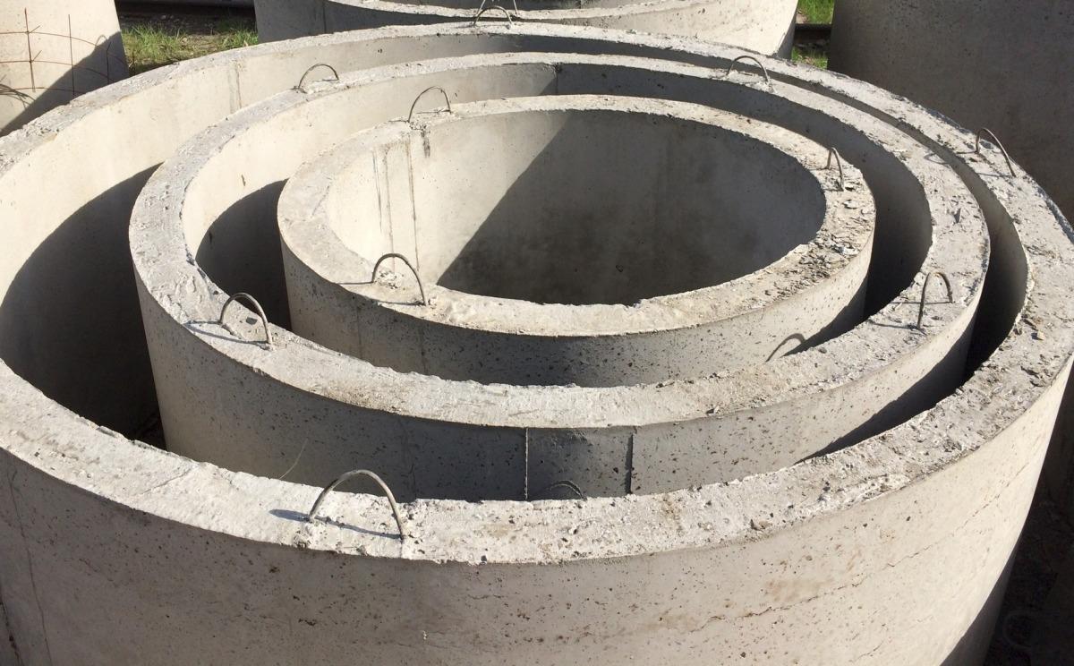 Жб кольца для колодцев - виды, размеры, порядок монтажа
