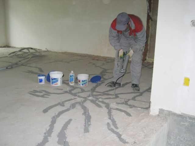 Инъектирование бетона - технология, инъектсоставы, оборудование