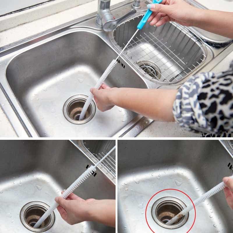 Домашние и химические методы прочистки засоров в раковине