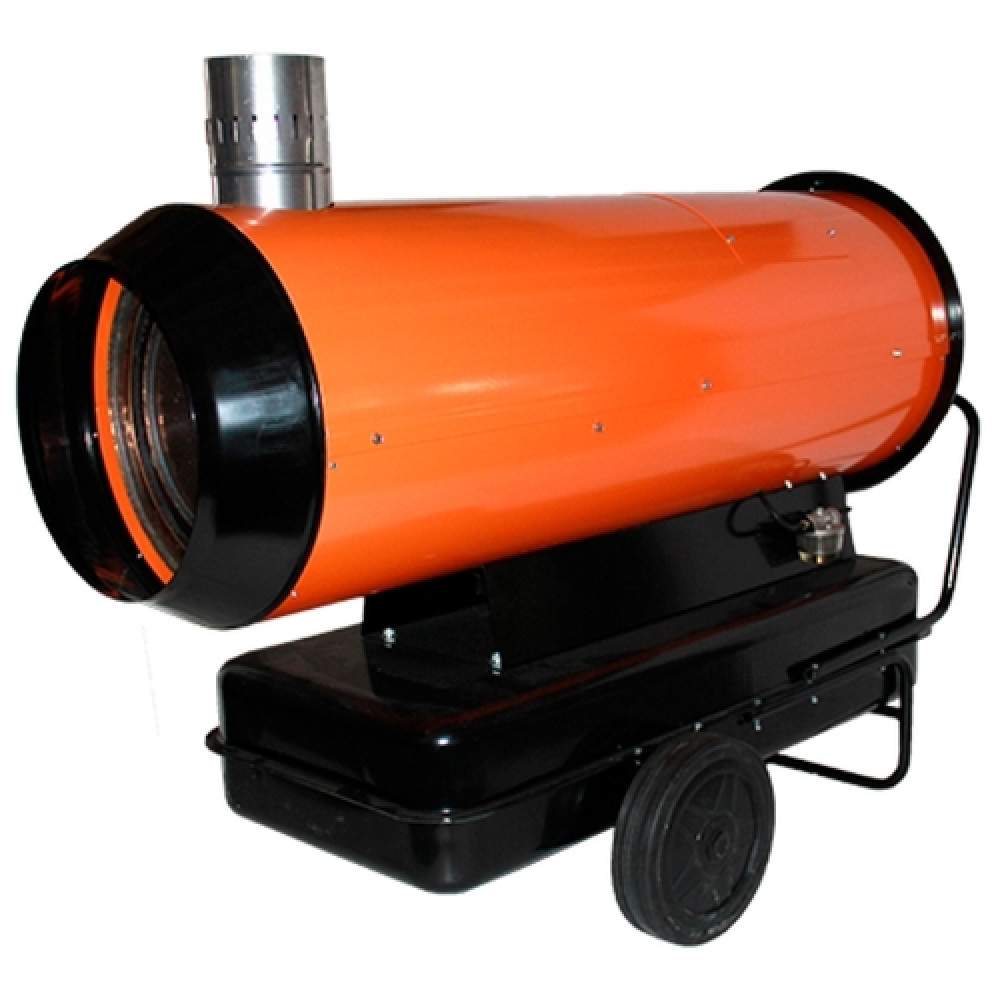 Дизельная тепловая пушка прямого и непрямого нагрева: устройство, принцип работы + обзор производителей