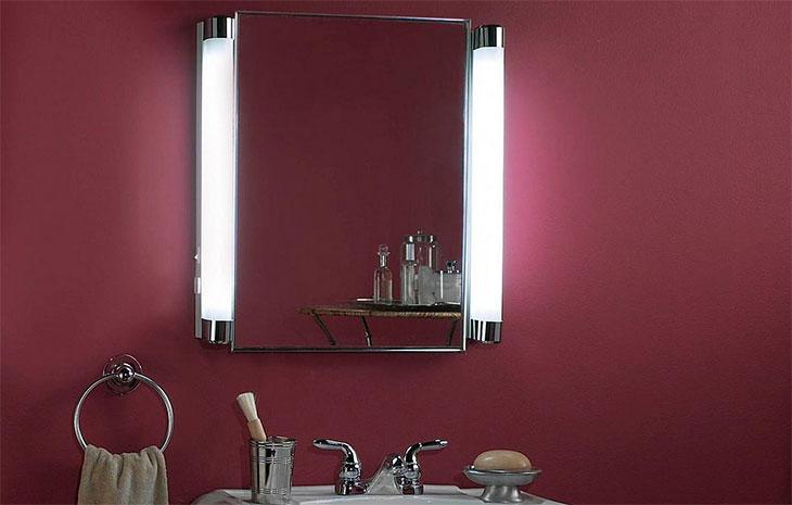 Освещение в ванной комнате: фото и общие рекомендации