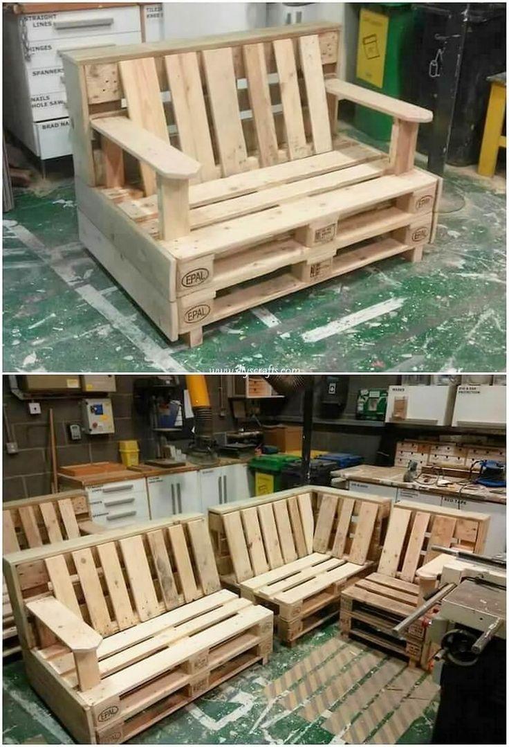 Мебель из поддонов (паллет) - как сделать своими руками, фото и идеи