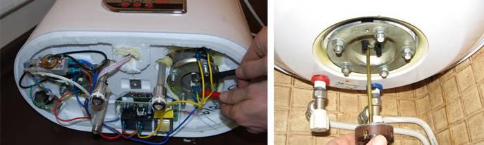 Ремонт проточного водонагревателя своими руками - причины неисправностей в газовых и электрических моделях и ремонт