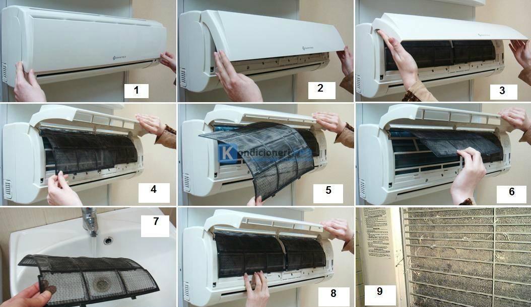 Как чистить кондиционер в домашних условиях – правила чистки кондиционеров своими руками