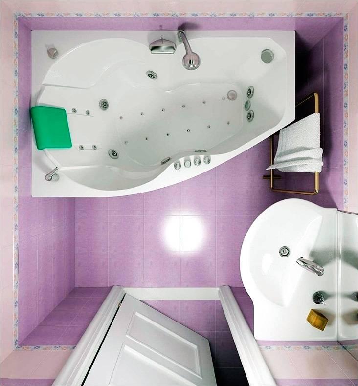 Маленькая ванная — современные идеи дизайна и советы по планировке и зонированию ванной комнаты