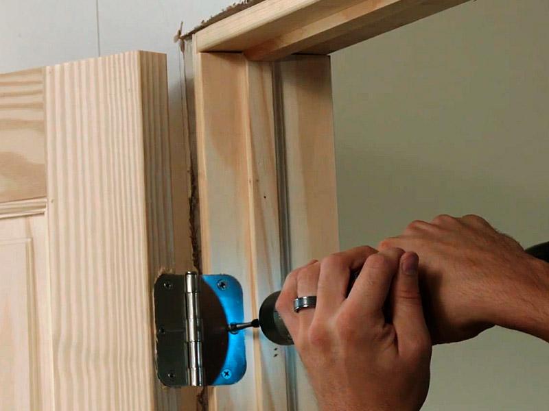 Как установить межкомнатную дверь  :: инфониак