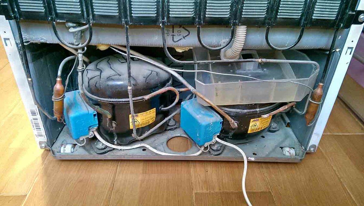 Ремонт и замена компрессора холодильника: пошаговая инструкция с фото
