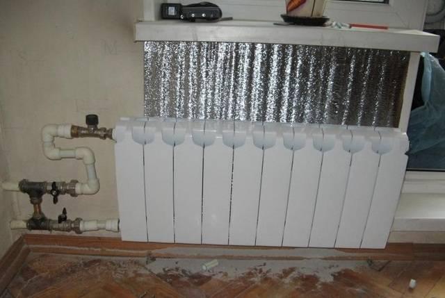 5 схем отопления с теплым полом и радиаторами в частном доме
