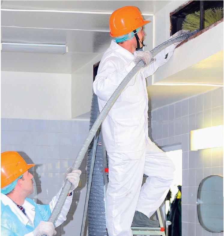 Очистка систем вентиляции – дезинфекция и чистка воздуховодов