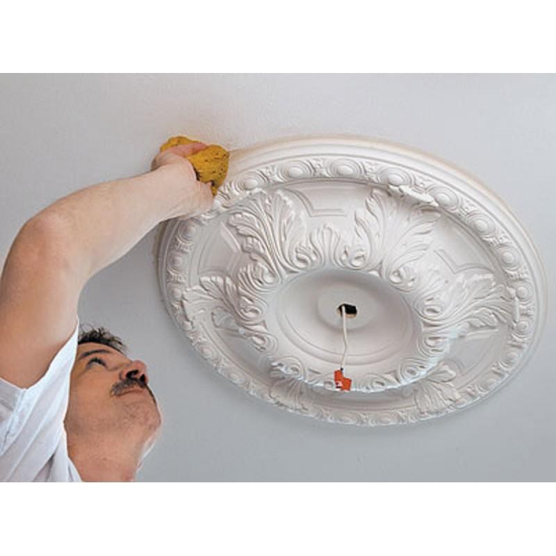 Розетка потолочная: декор своими руками в квартире и идеи на фото, отделка люстры