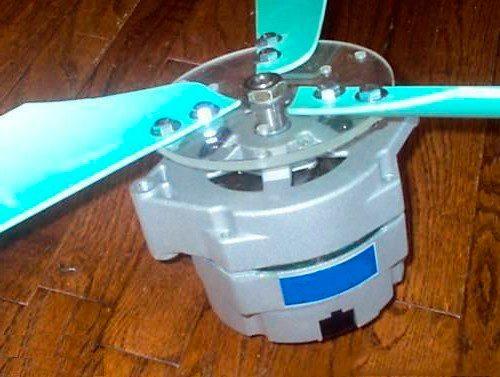 Ветрогенератор своими руками из автомобильного генератора ваз