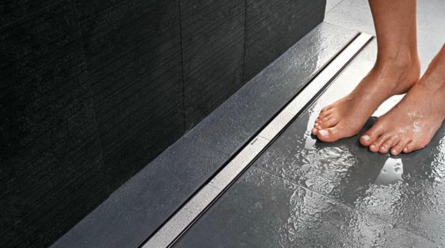 Как сделать трап в ванной комнате – душ со сливом в полу (инструкция)
