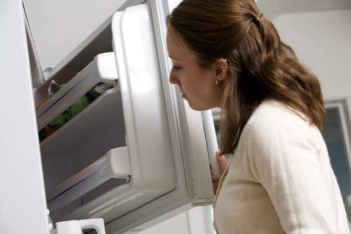 Как избавиться от запаха в холодильнике? чем помыть?
