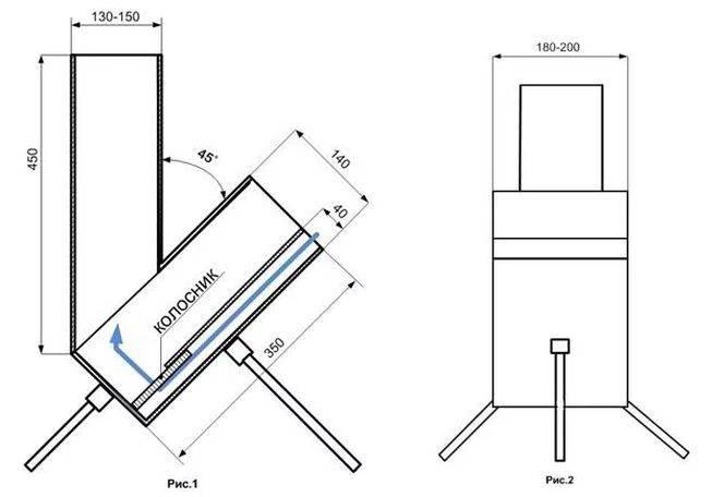 Что такое ракетная печь: варианты конструкции, схемы и принцип работы