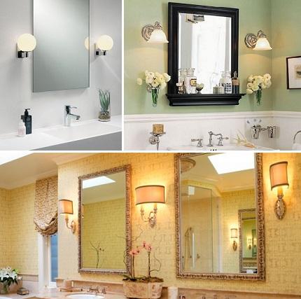 Правильное освещение в ванной комнате для вашей красоты - законы элегантности