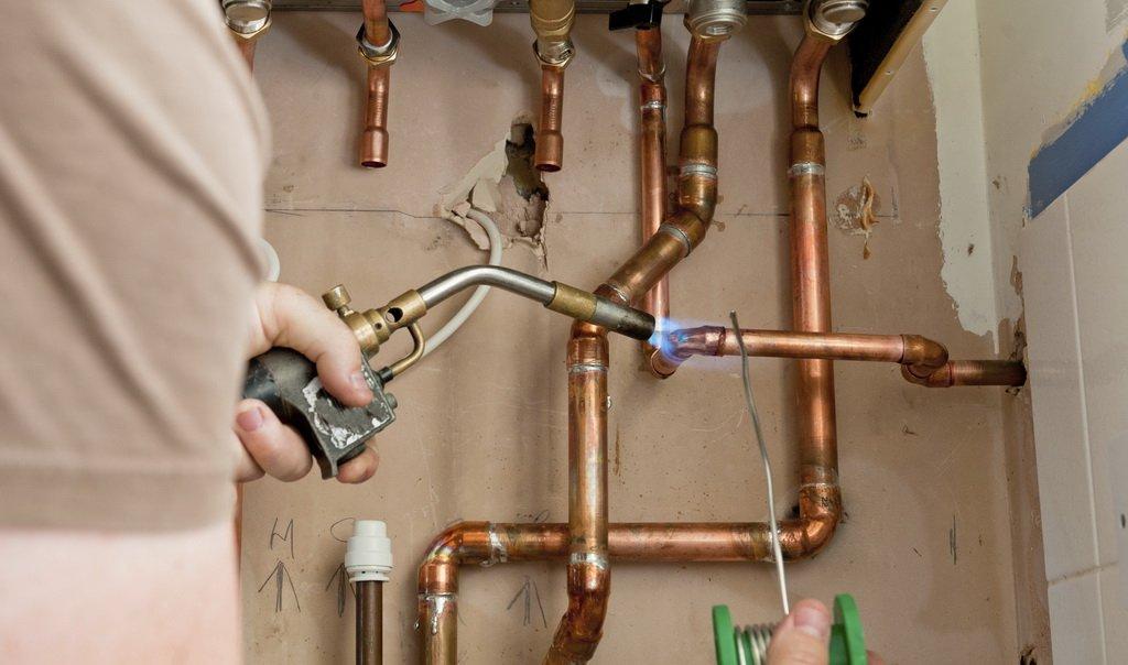 Медные трубы для газа: требования и особенности монтажа