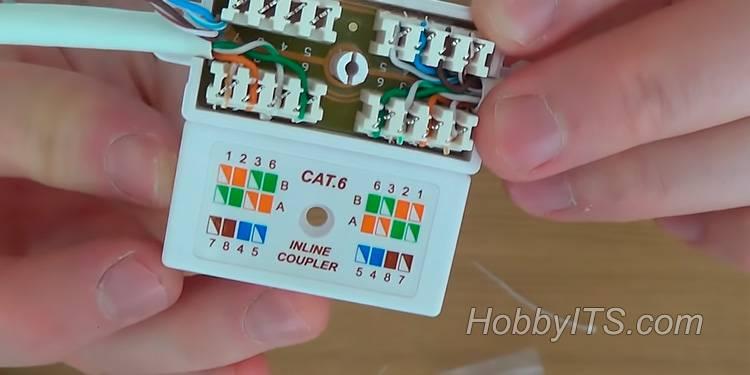 Как соединить витую пару между собой: способы + инструкции по наращиванию витого провода