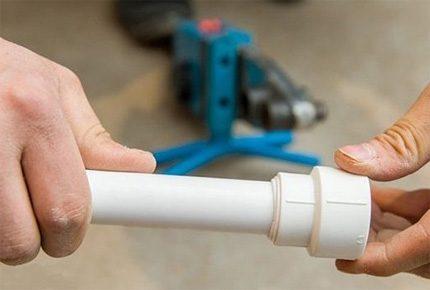 Пайка полипропиленовых труб для водопровода и отопления своими руками