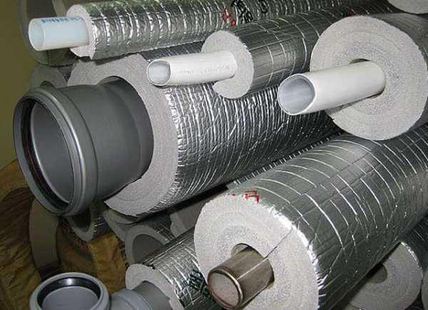 Утеплитель для труб - описание теплоизоляционных материалов для отопления, водопровода и канализации