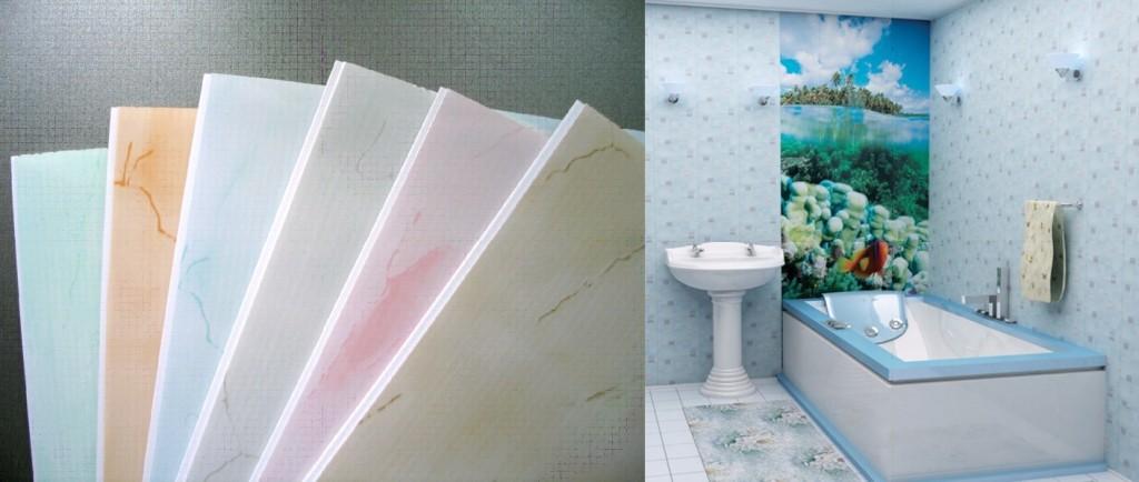 Отделка ванной комнаты пластиковыми панелями. монтаж пвх панелей