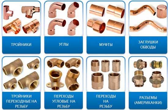 Соединение медных труб: сравнение монтажных технологий